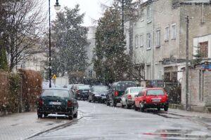 Śnieżne popołudnie na Żoliborzu