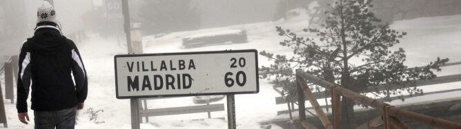 Hiszpanie założyli czapki. Śnieg pod Madrytem