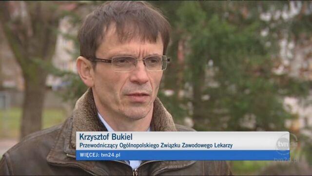 Krzysztof Bukiel o konferencji ministra Arłukowicza (TVN24)