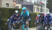 Dwóch kolarzy zdyskwalifikowanych za przepychanki na początku Wyścigu dookoła Flandrii