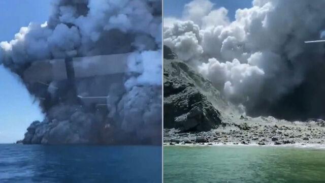 Erupcja wyspy-wulkanu w Nowej Zelandii. Ofiary śmiertelne, wielu zaginionych