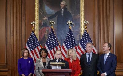 Komisje Kongresu ogłosiły artykułu impeachmentu Donalda Trumpa