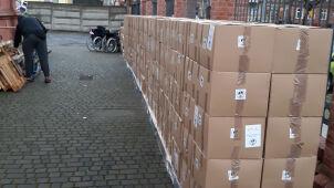 Świąteczne paczki dla Polaków na Ukrainie zatrzymane na granicy. Trafią do Otwocka