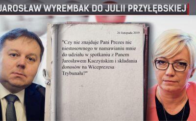 Zarzuty o polityczne motywacje prezes Przyłębskiej