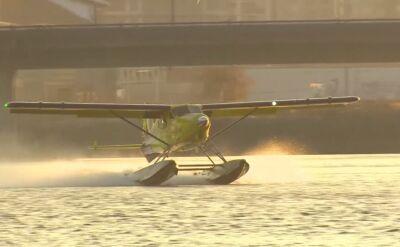 Pierwszy lot w pełni elektrycznego hydroplanu