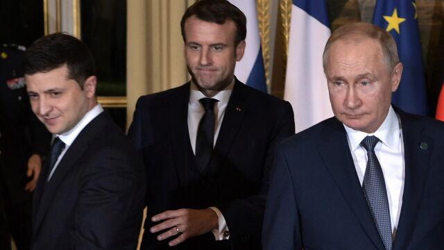 Putin po spotkaniu z Zełenskim: jestem zadowolony