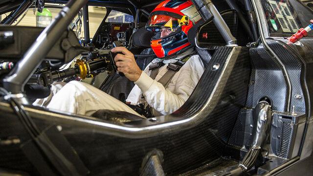 Robert Kubica w samochodzie DTM