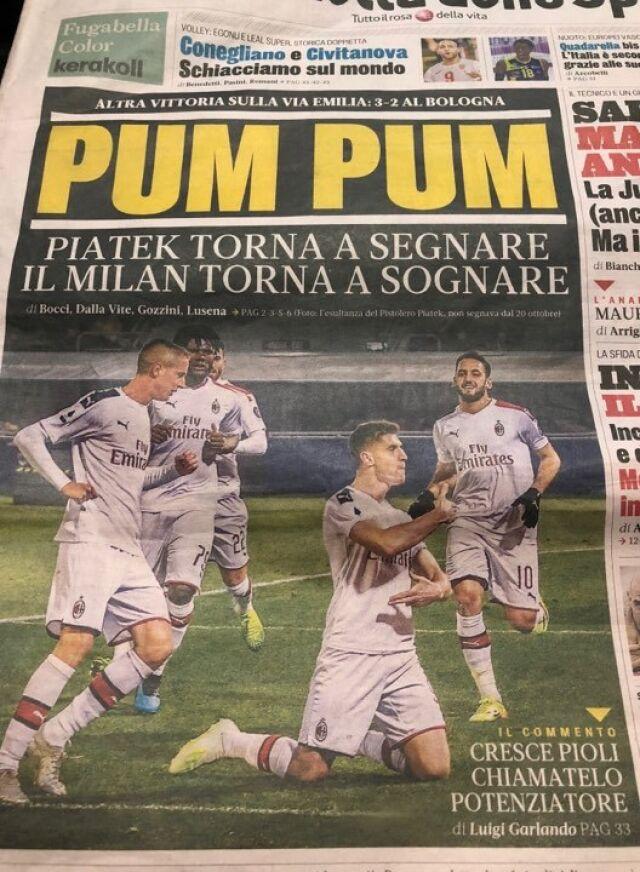"""Piątek trafił na okładkę włoskiej gazety. """"Ibrahimović? Może stworzymy duet"""""""
