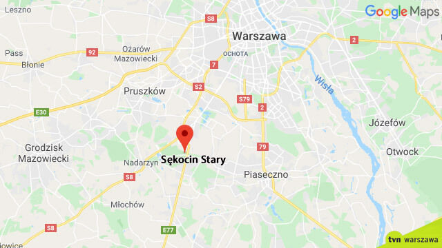 """Zderzenie czterech aut na krajowej """"7"""". Korek w stronę Warszawy"""
