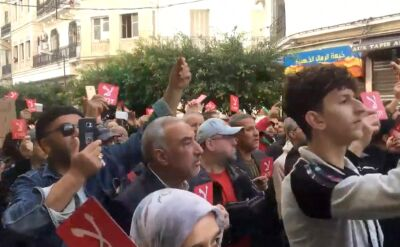 Antyrządowe protesty w Algierii