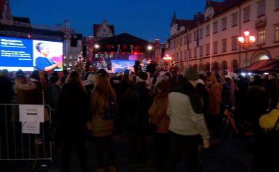 Wrocław świętuje literackiego Nobla dla Olgi Tokarczuk