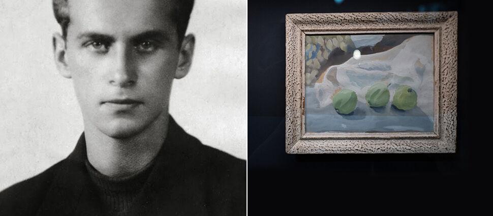 """""""Umiał budować obrazy słowem, ale byłby też malarzem"""". Nieznana akwarela Baczyńskiego"""