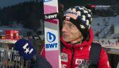 Dawid Kubacki po kwalifikacjach w Vikersund