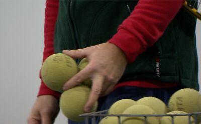 Niewidomi grają w tenisa ziemnego i zbierają pieniądze na mistrzostwa