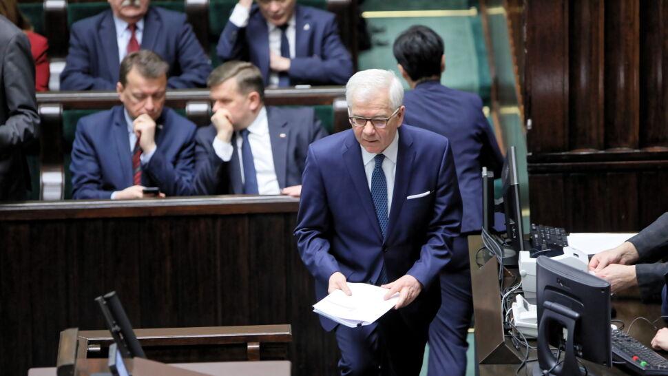 Szef MSZ: uzależnianie środków z UE od oceny stanu praworządności jest nie do przyjęcia
