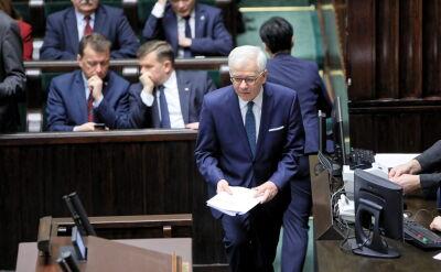 Szef MSZ: uzależnianie środków z budżetu Unii od oceny stanu praworządności jest nie do przyjęcia
