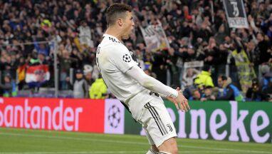 Prowokujący gest po ostatnim golu.