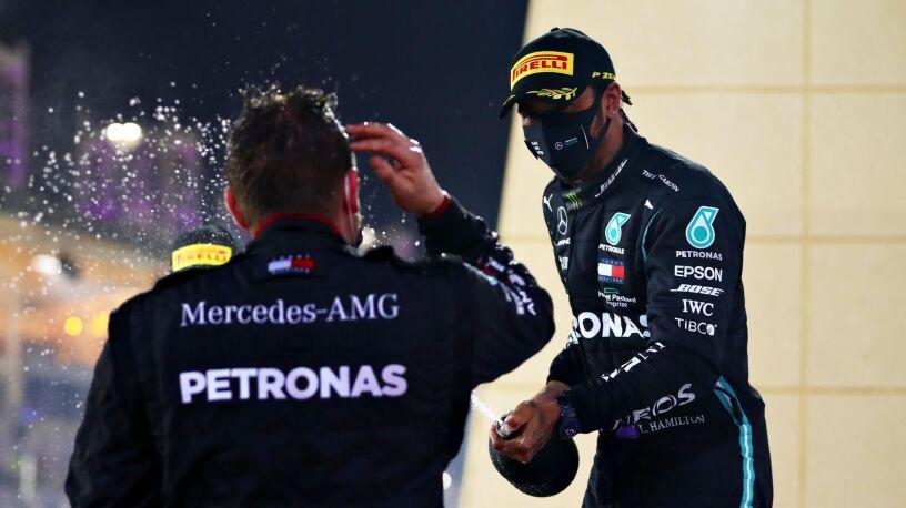 Hamilton wygrał w Bahrajnie. Grosjean może mówić o cudzie