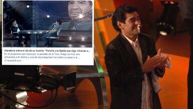 Maradona rozmawia z Maradoną