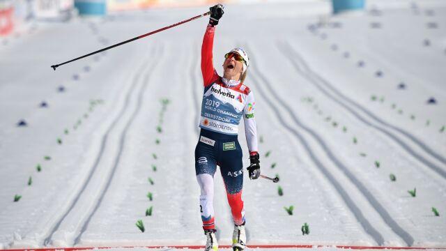 Biegła w innej lidze. Johaug z kolejnym złotem mistrzostw świata