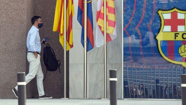 Policja w siedzibie Barcelony. Były prezes zatrzymany