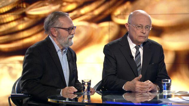 """Ryszard Bugaj i Marek Borowski w """"Faktach po Faktach"""""""