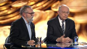 Ryszard Bugaj i Marek Borowski w