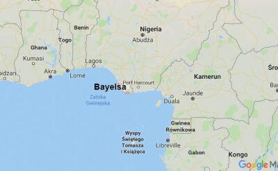 Do wybuchu doszło w stanie Bayelsa na południu Nigerii