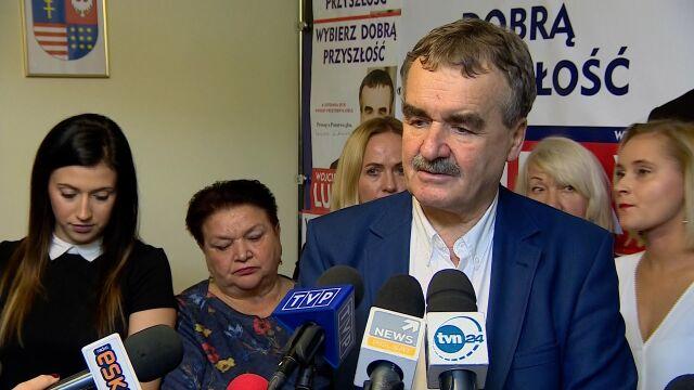 Lubawski po ogłoszeniu sondażowych wyników