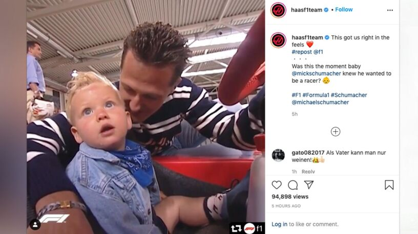 Mick Schumacher podziękował rodzicom