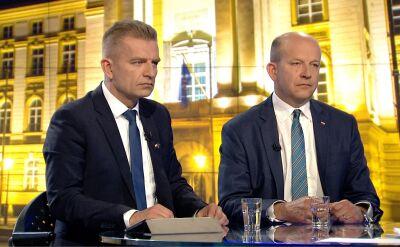 """Konstanty Radziwiłł, Bartosz Arłukowicz i Kazimierz Michał Ujazdowski w """"Faktach po Faktach"""""""