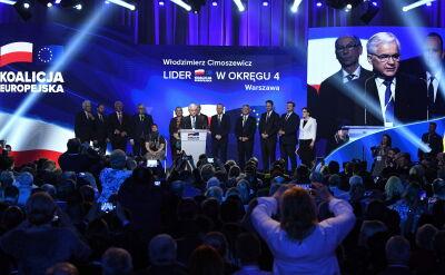 """""""Jedynki"""" list Koalicji Europejskiej"""