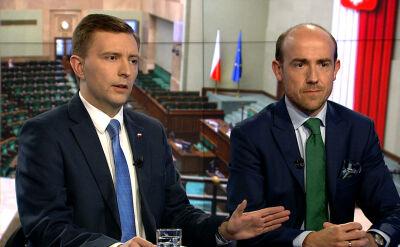 """Borys Budka i Łukasz Schreiber w """"Faktach po Faktach"""". Cała rozmowa"""