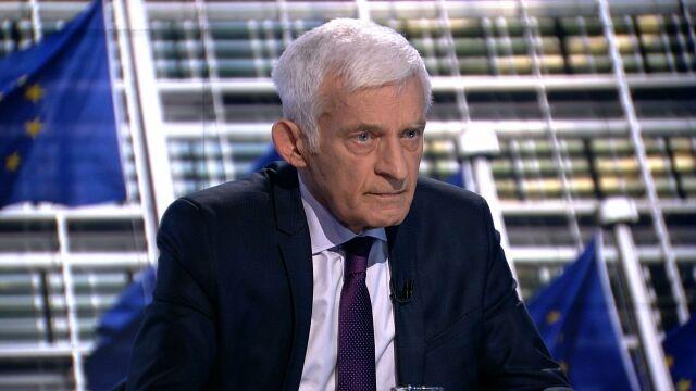 """Jerzy Buzek gościem """"Faktów po Faktach"""" TVN24"""