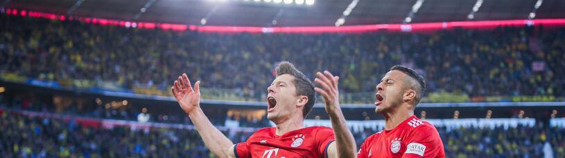 Lewandowski specem od niemieckiego klasyku. Statystycy wzięli na warsztat nowe rekordy
