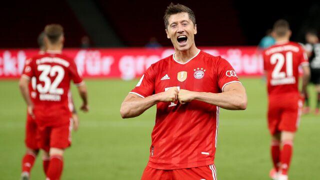 """Anglicy za Złotą Piłką dla Lewandowskiego. """"Strzelał gole jak w grze komputerowej"""""""