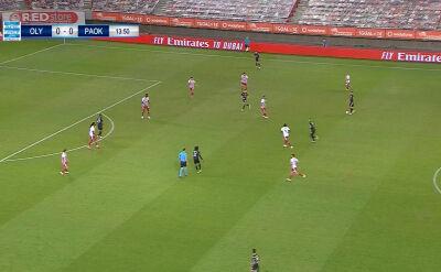 Skrót meczu Olympiakos - PAOK w 34. kolejce ligi greckiej