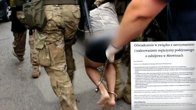 """Rzecznik Praw Obywatelskich o """"pogwałceniu praw"""" podejrzanego o zabójstwo 10-latki. Policja krytykuje"""
