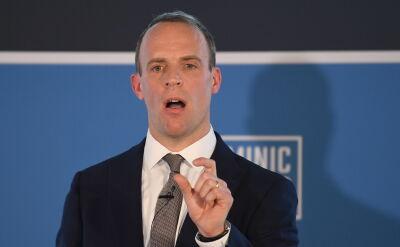 Dominic Raab poparł Borisa Johnsona na nowego premiera