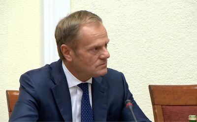 Tusk: najgorliwszymi przeciwnikami odwróconego VAT był PiS i jego eksperci