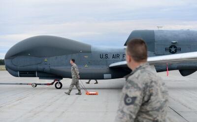 Amerykański dron zestrzelony nad Iranem