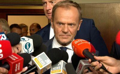 Donald Tusk o wyroku w sprawie Arabskiego