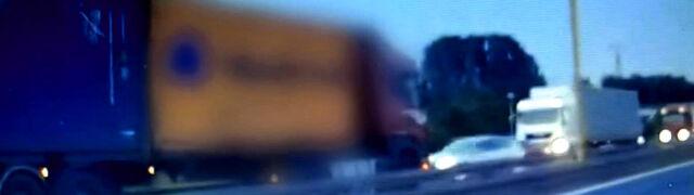 Jechał ciężarówką pod prąd, taranował inne auta. Sąd się nie zgodził na areszt dla kierowcy