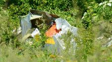 Wypadek samolotu w Bobrownikach