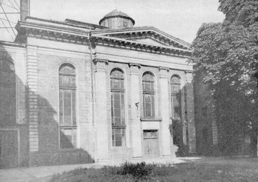 Synagoga w 1969 roku