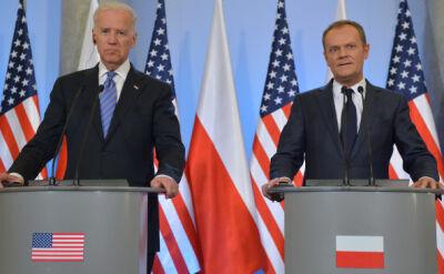 Biden: Stajemy ramię w ramię z Polską