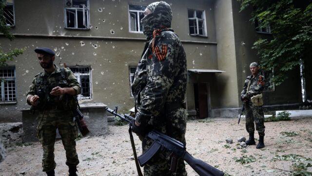 Reporter TVN24 relacjonuje sytuację w Doniecku
