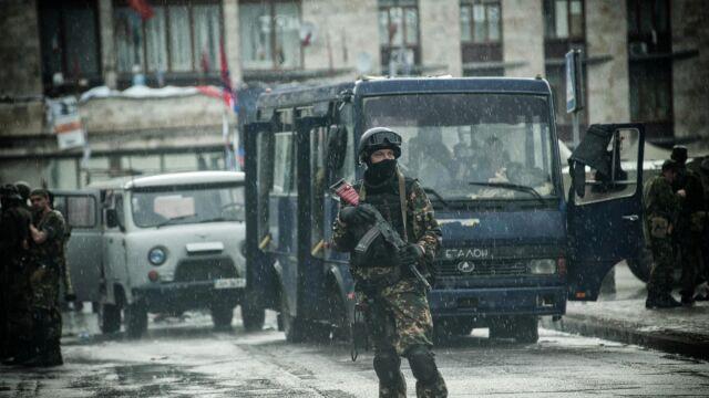 Ukraina: strzały w pobliżu klubu piłkarskiego Szachtar Donieck