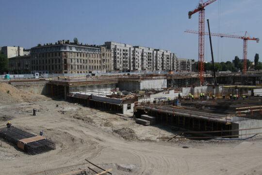 Budowa przebiega zgodnie z harmonogramem