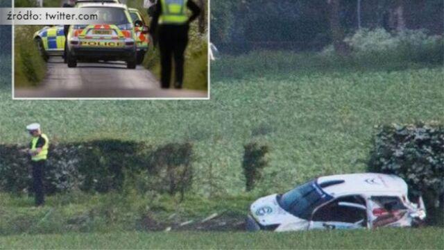 Tragiczny wypadek podczas rajdu w Wlk. Brytanii. Trzy osoby nie żyją